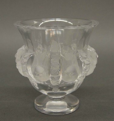 8: Lalique footed bowl