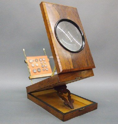 19: Victorian Rosewood magnifier