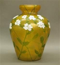 37: Tiffany Art Glass vase