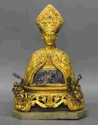 Bust of a Pope