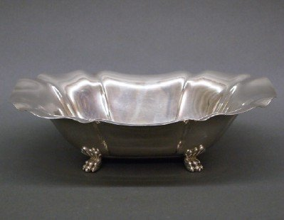 12: Sterling bowl