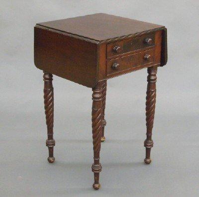 17: Sheraton sewing table