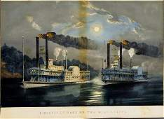 83 Currier  Ives lithograph