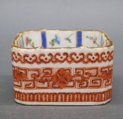 168: Chinese porcelain box