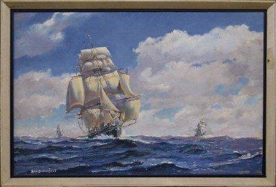 B T Stephenson seascape