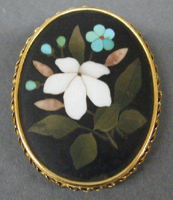 Pietra Dura pin