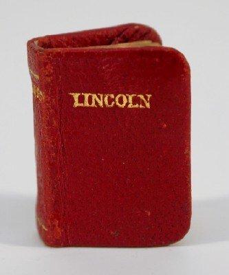 Miniature Lincoln book