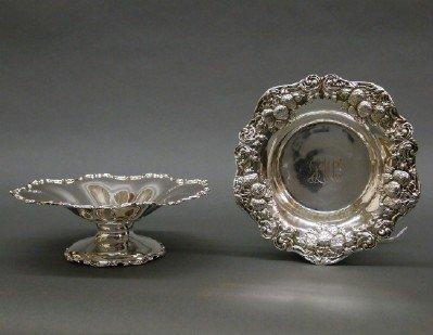 2 Sterling serving bowls