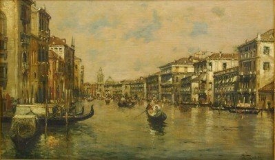 A Rodetti Venetian scene
