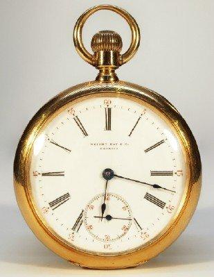 18 k Patek Philippe pocket watch