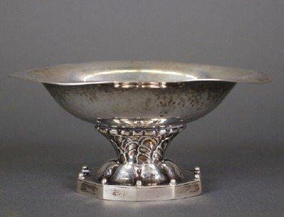 Georg Jensen footed bowl