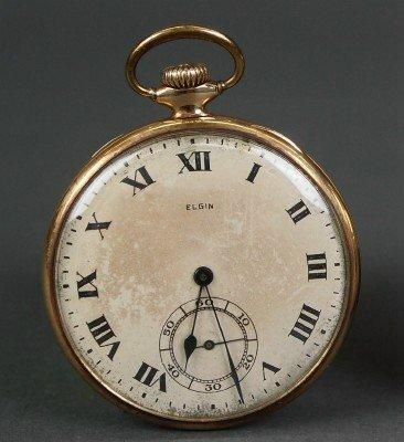 Elgin 14kt pocket watch