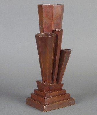 Japanese Art Deco vase