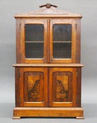 Victorian miniature cupboard