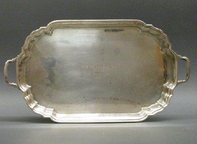 Ensko sterling tray