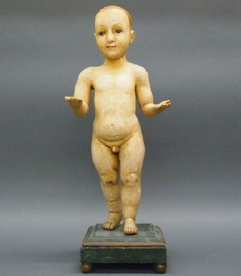 Wood Sculpture of the Christ Child