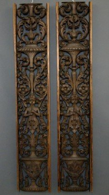Carved architectural elements