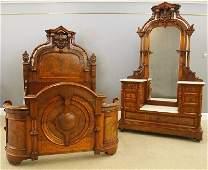 Renaissance Revival Bedroom Set