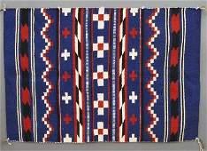 Navajo Child's Wearing Blanket
