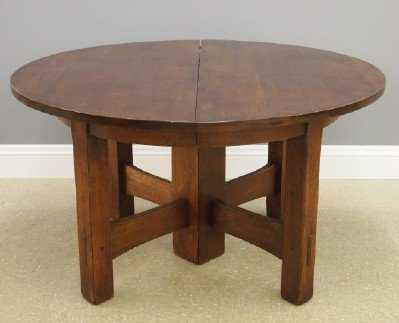 Gustav Stickley 634 Dining Table See Sold Price