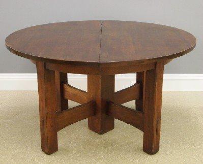 Gustav Stickley #634 dining table