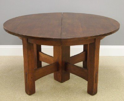 Gustav Stickley #634 dining table