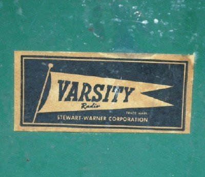 Stewart-Warner Co. Varsity Radio - 3