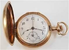 Swiss 14k Chronograph w/Diamonds