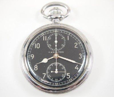 Hamilton model 23 Military Chronograph