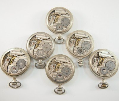 """6 AWW Co. """"Equity"""" model pocket watches - 2"""