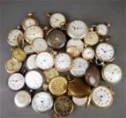 35 Pocket watches