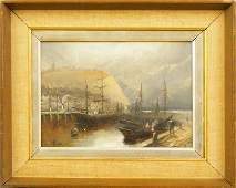 Manner of Meegan Harbor Scene