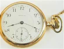 14k AWW Co. pocket watch