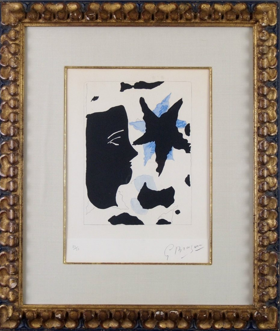 G. Braque etching