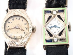 2 Vintage Lady's Wrist Watches