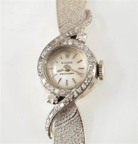 Lady's Rolex Wrist Watch