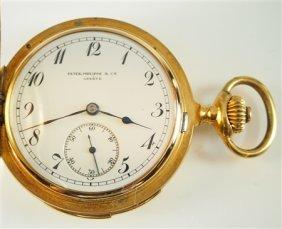 18k Patek Philippe & Co minute Repeater pocket watch