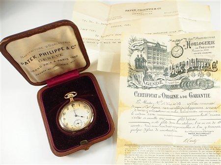 18k Patek Philippe & Co pocket watch