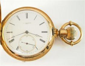 18k L. A. Favre-brandt Pocket Watch