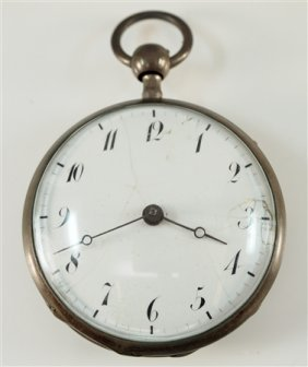 French 1/4 Hour Repeater Pocket Watch