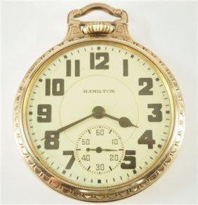 Hamilton 992e Railroad Watch
