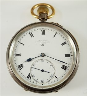 English Private Label Pocket Watch