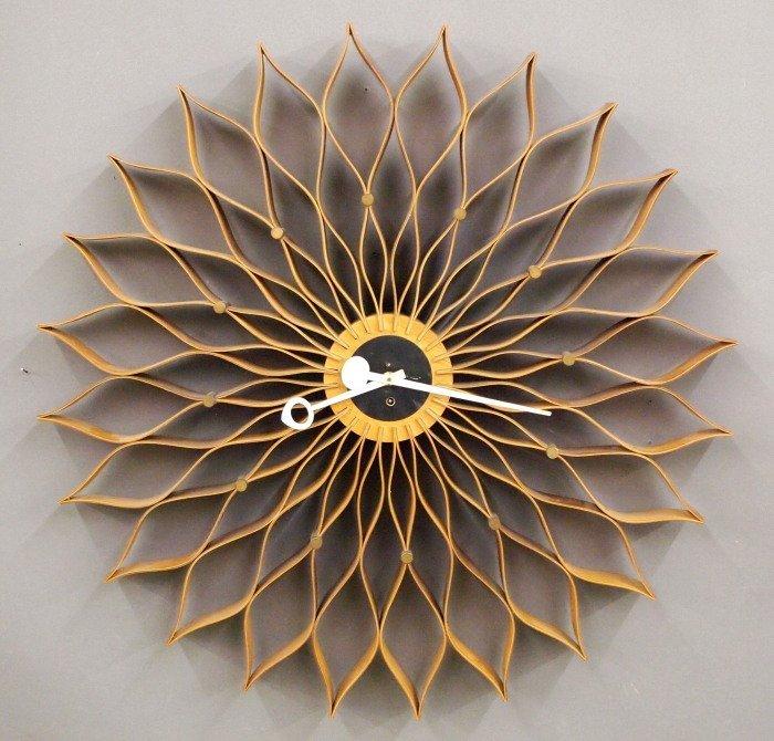 George Nelson Sunflower clock