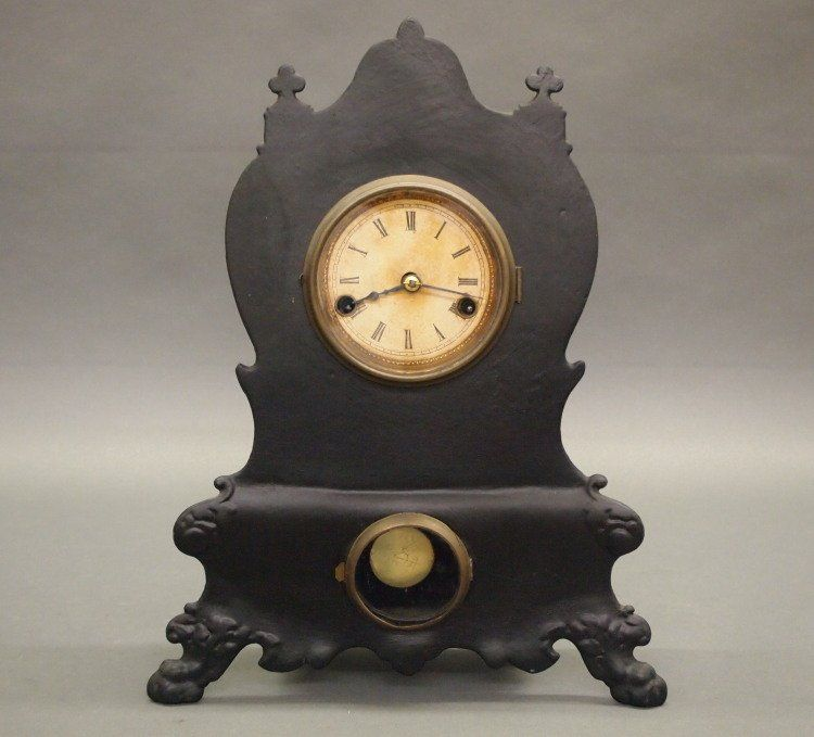 Waterbury Iron front clock