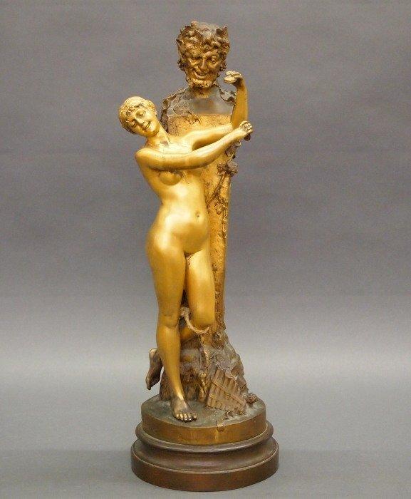 D Van Den Bossche Bronze figure