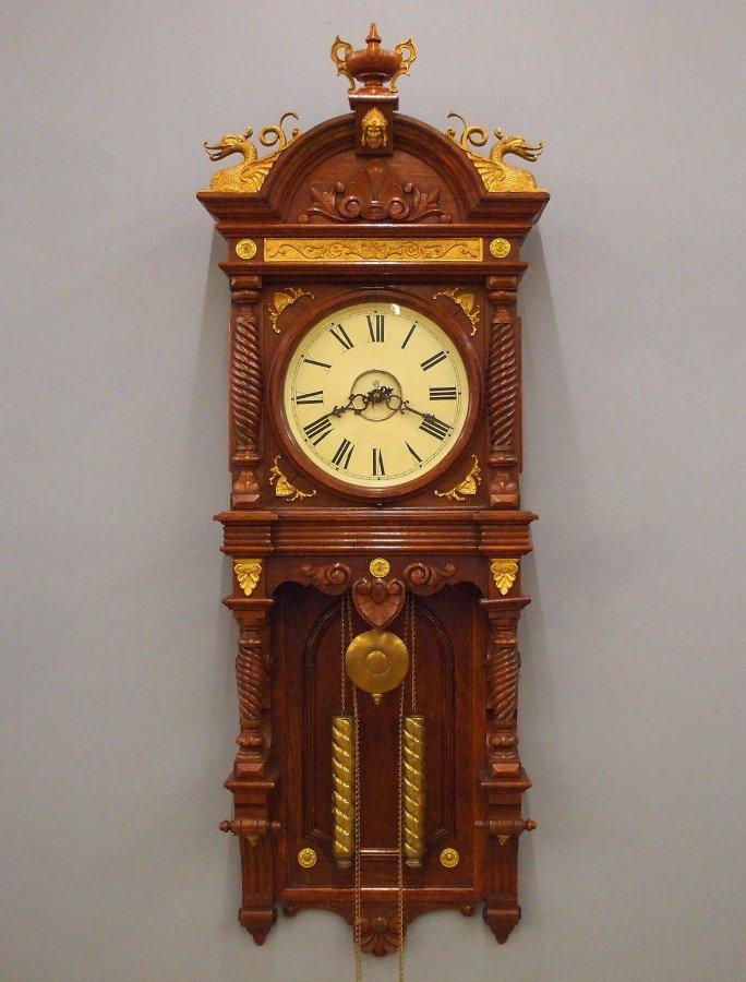"Waterbury ""Augusta"" model wall clock"
