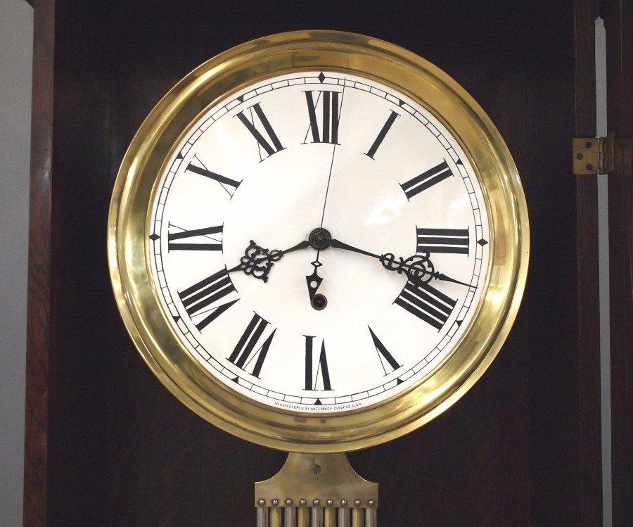 """Waterbury """"Regulator No. 61"""" floor clock - 2"""