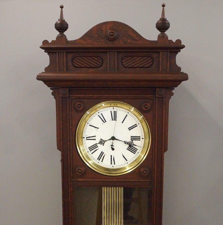 """Waterbury """"Regulator No. 61"""" floor clock - 3"""