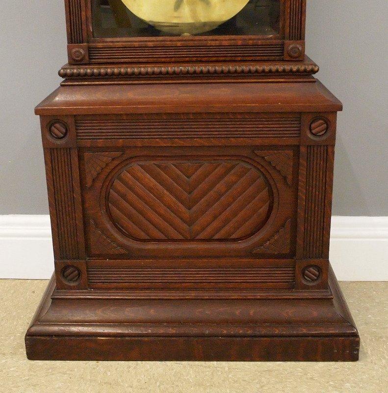 """Waterbury """"Regulator No. 61"""" floor clock - 4"""