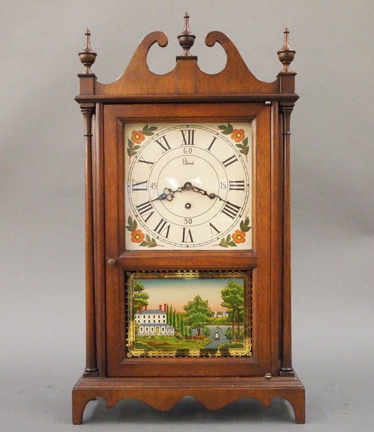 Colonial Clock Co. Pillar & Scroll